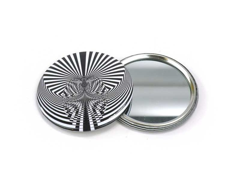 Miroir de poche, petit, Ø 60 mm, Optical Art OA 5