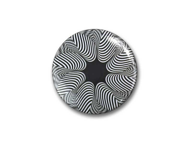 Spiegeltje, klein, Ø 60 mm,   Op-Art 6