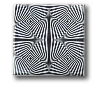 Fridge Magnet, Optical Art OA 10