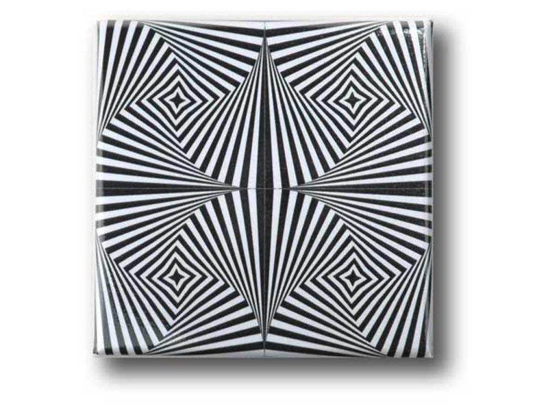 Kühlschrankmagnet, Optische Kunst OA 10