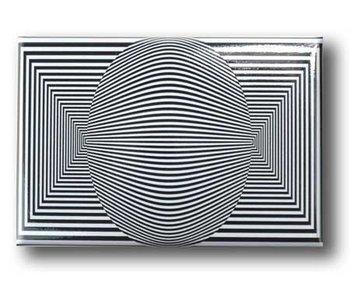 Kühlschrankmagnet, Optische Kunst OA 11