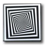 Fridge Magnet, Optical Art OA 15