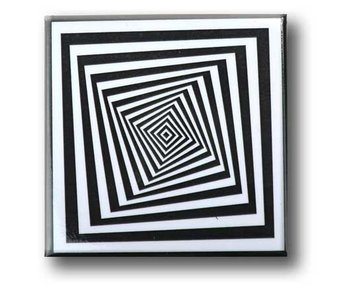 Fridge Magnet, Optical Art OA 15