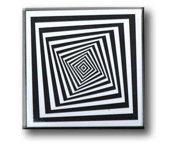 Imán de nevera, Arte óptico OA 15