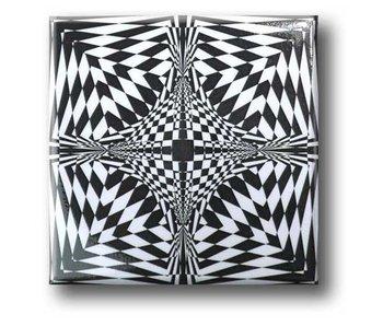 Fridge Magnet, Optical Art OA 17