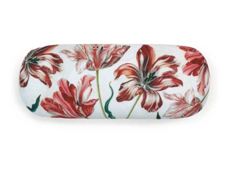 Brillenbox, Merian, drei Tulpen