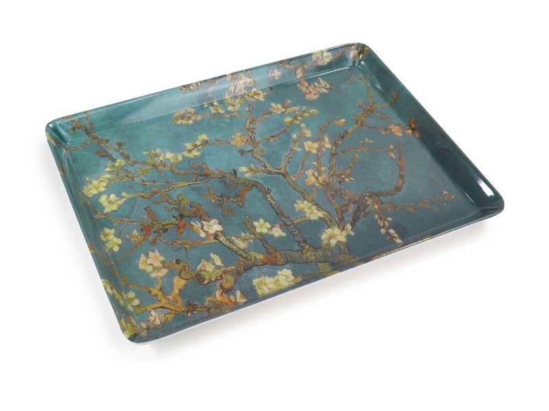 Plateau midi (27 x 20 cm) Fleur d'amandier, Van Gogh