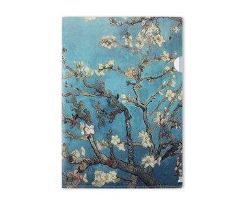 Funda portadocumentos A4, Flor de almendro, Van Gogh