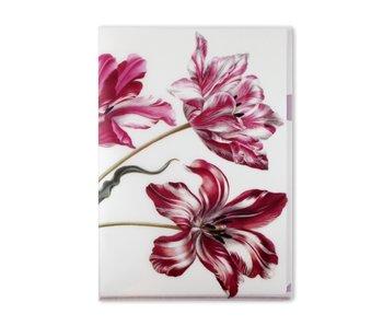 Funda portadocumentos, A4, Tres tulipanes, Merian