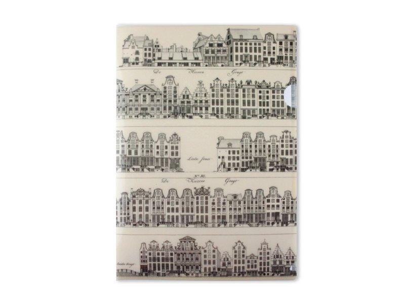 Filesheet A4, Grachtenhuizen, Jacobszoon