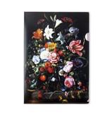 Porte-documents A4, Nature morte aux fleurs, De Heem