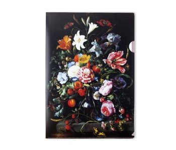 Filesheet A4, Vase with Flowers, De Heem