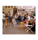 Museum Chair Kids YELLOW 59 x 35 x 4,2 cm