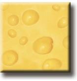 Kühlschrankmagnet, Gouda-Käse