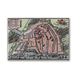 Fridge magnet, Amsterdam map 1585