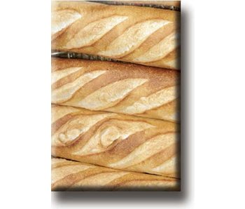 Kühlschrankmagnet, französisches Brot