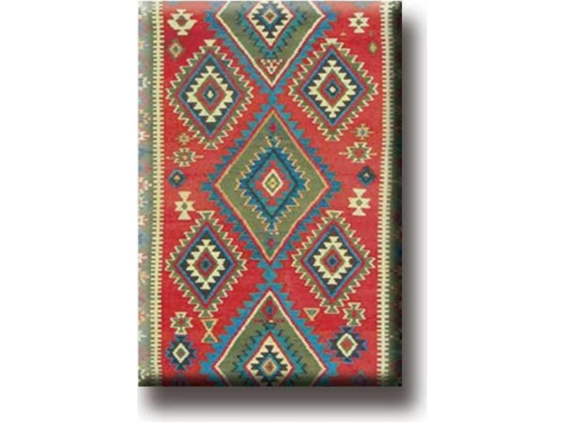 Aimant pour réfrigérateur, tapis persan