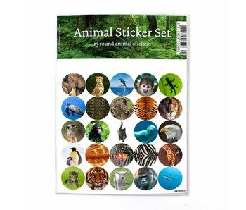 Hoja de adhesivos, Animales