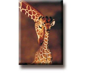 Aimant de réfrigérateur, Girafe