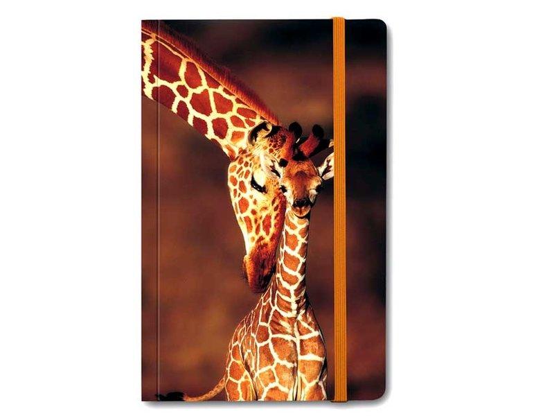 Carnet à couverture souple, Girafe