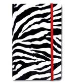 Softcover-Notizbuch, Zebrahaut