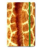 Softcover-Notizbuch, Giraffenhaut