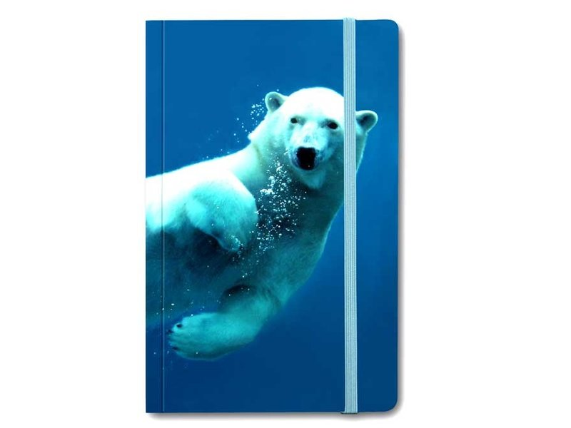 Softcover Notebook, IJsbeer