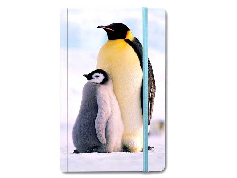 Softcover Notebook, Pinguins