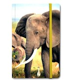 Softcover-Notizbuch, Elefant