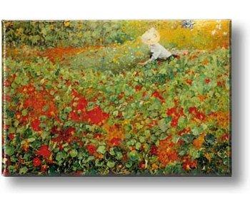 Imán de nevera, El jardín, Van Looy