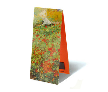 Magnetic Bookmark,  The Garden, Jacobus van Looy