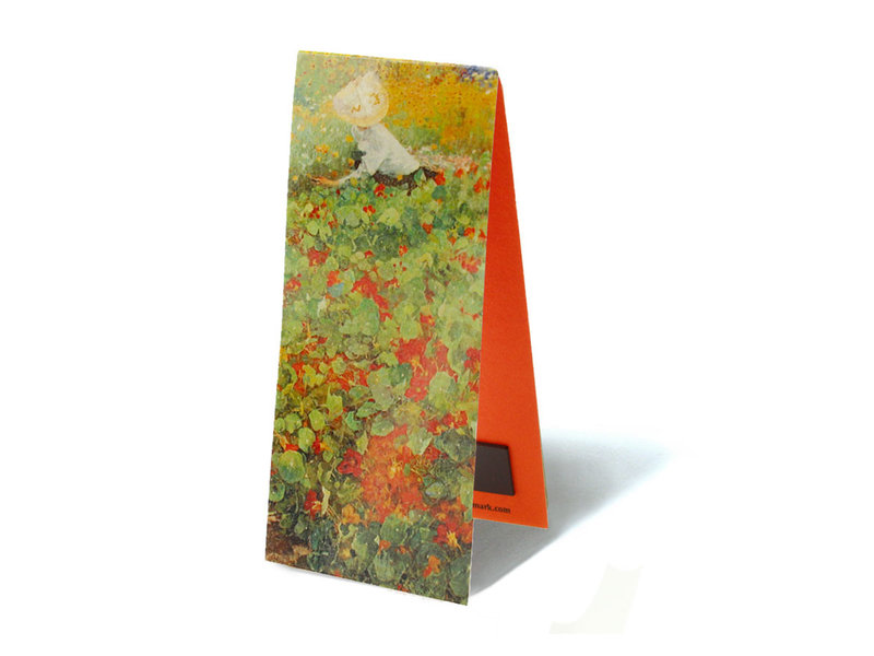 Magnetic Bookmark,  The Garden, Jacobus van Looy
