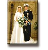 Aimant de réfrigérateur, le roi Willem-Alexander et la reine Máxima