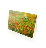 Doppelkarte, Der Garten, Van Looy