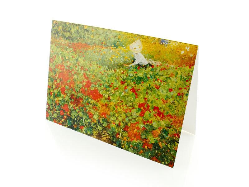 Double carte, Le jardin, Van Looy