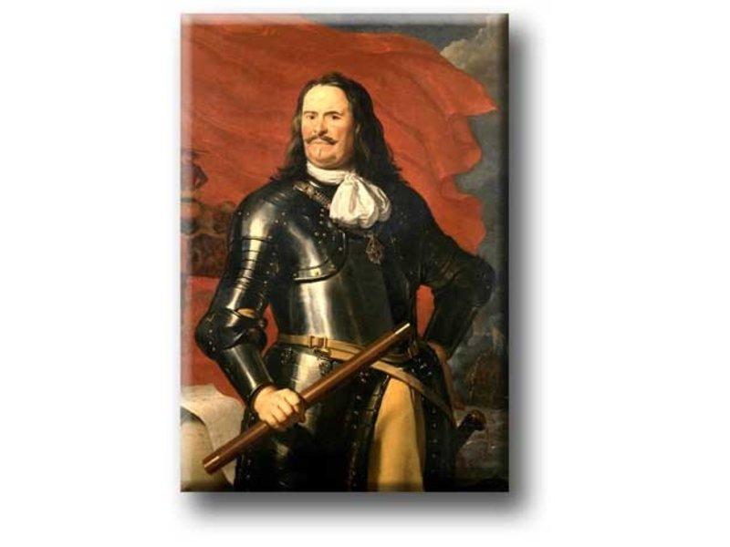 Imán de nevera, Michiel de Ruyter