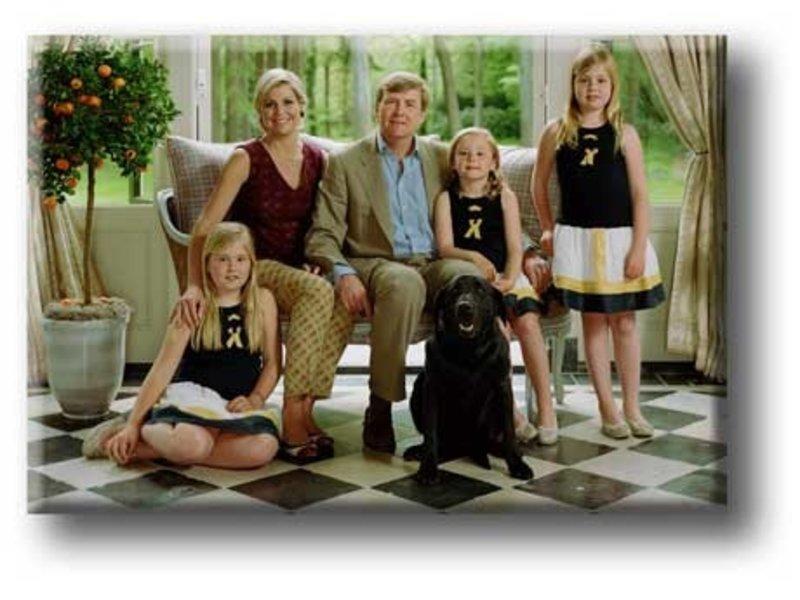 Koelkastmagneet, Koninklijke Familie