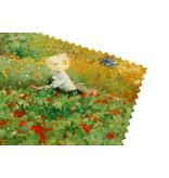 Essui-verres, 15 x 15 cm, Le jardin, Van Looy