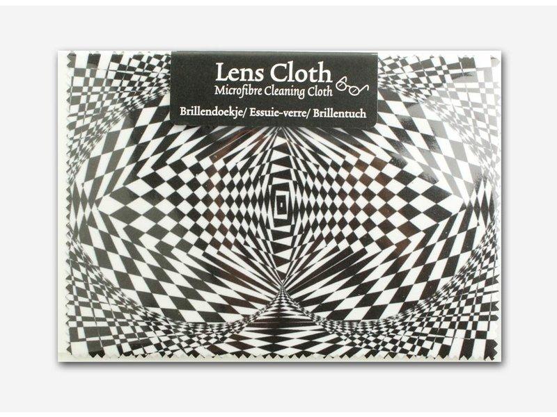 Lens cloth, 10 x 15 cm, Optical illusion