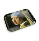 Bandeja laminada grande, Vermeer, Niña con Arete de Perlas