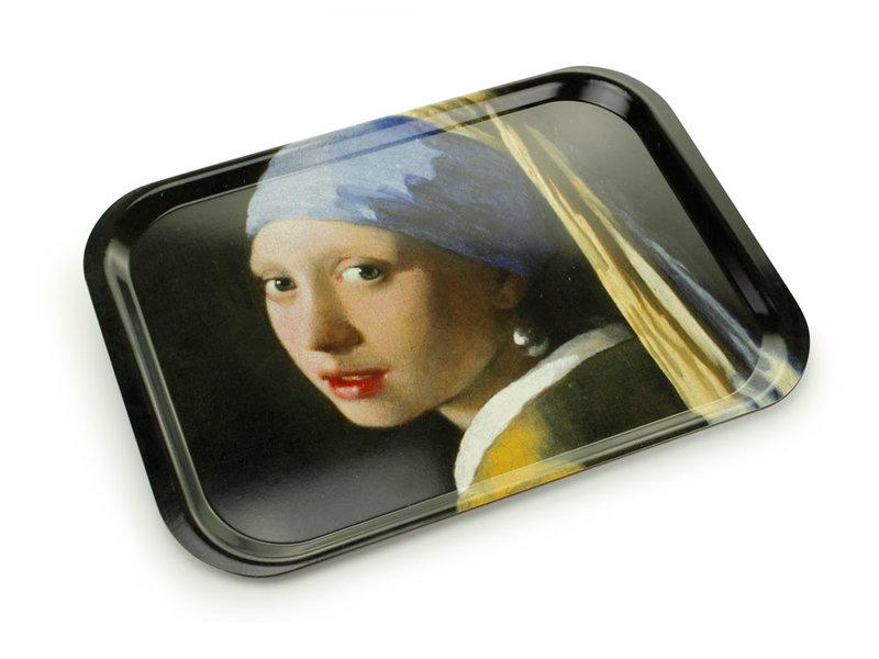 Dienblad Laminaat groot,  Vermeer, Meisje met de Parel