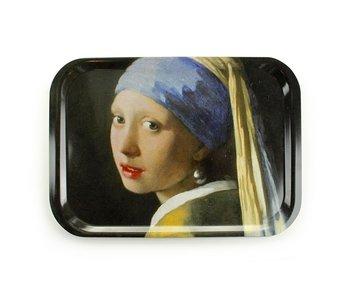 Grand plateau en stratifié, Vermeer, Fille avec une boucle d'oreille perle