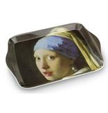 Minitablett, 21 x 14 cm, Mädchen mit Perlenohrring, Vermeer