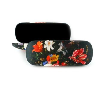 Spectacle case, Flower still life, De Heem