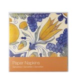 Papierservietten, Tulpenfliesen polychrom