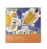 Servilletas de papel, Tulip azulejo policromado
