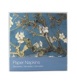 Servilletas de papel, flor de almendro, Van Gogh