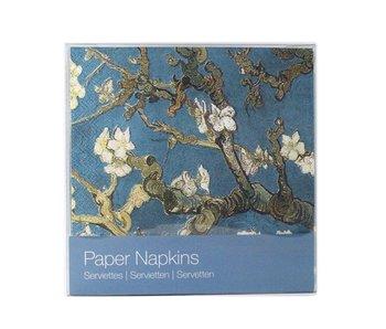 Paper Napkins, Almond blossom, Van Gogh