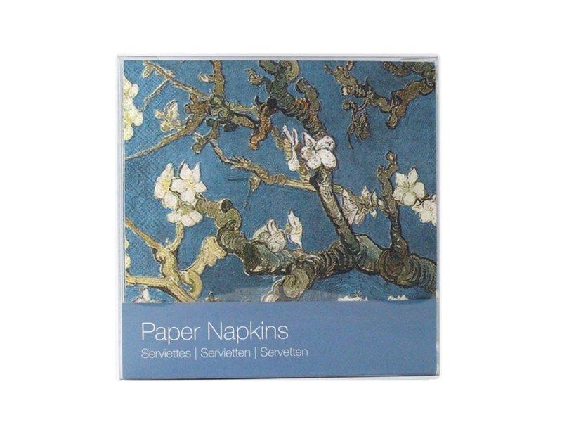 Serviettes papier, Fleur d'amandier, Van Gogh