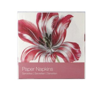 Paper Napkins, Three Tulips, Merian